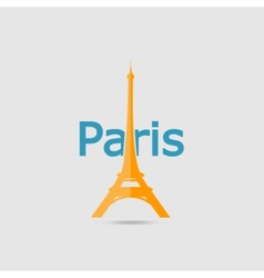 Eiffel tower set vector