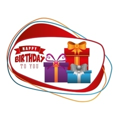 Happy birthday design vector