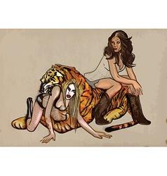 Fun with tiger vector