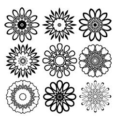 Mandala collection vector