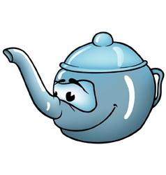 Teapot vector image vector image