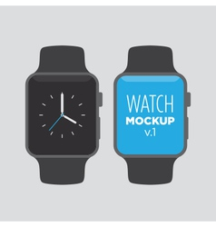 Watch mockup v1 vector