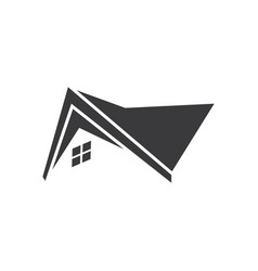 Home roof icon logo vector