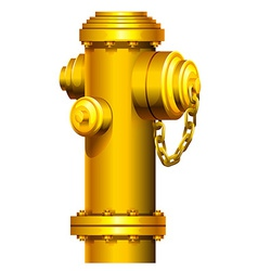 A fire hydrant vector