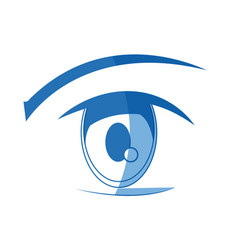 Anime eye manga comic expression image vector