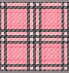 Check romantic fashion seamless pattern vector
