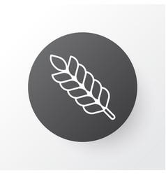 Plant icon symbol premium quality isolated wheat vector