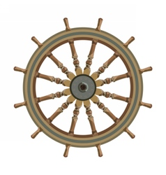 Ship steering wheal vector