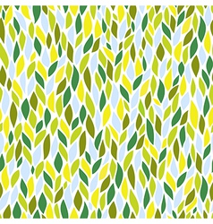 A seamless leaf pattern vector image