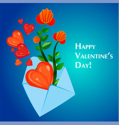envelope and heart vector image