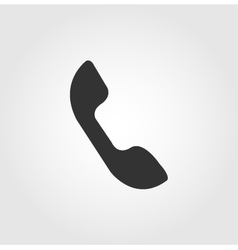 Phone icon flat design vector image vector image