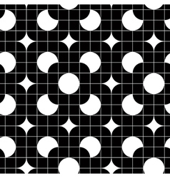 Retro tiles seamless pattern background vector