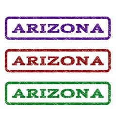 Arizona watermark stamp vector