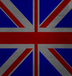 Grunge messy flag kingdom of great britain vector