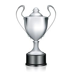 Silver Trophy vector image