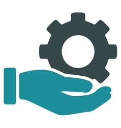Mechanic service icon vector