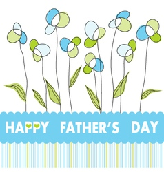 Father s day vector image vector image