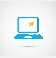 Media icon - notebook vector