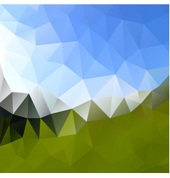 multicolor polygonal background design vector image vector image