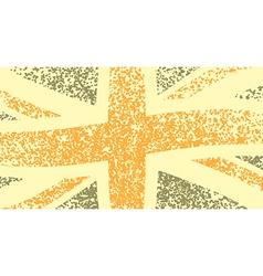 UK flag vector image vector image