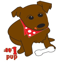 1 pup vector