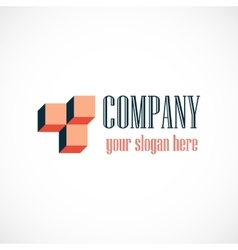Abstract company logotype vector