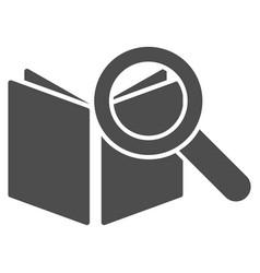 search book icon vector image