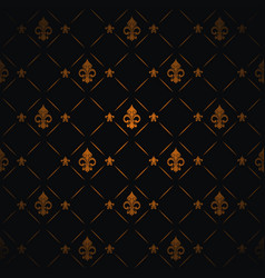 Royal lily background vector