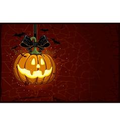 jack-o-lantern vector image vector image