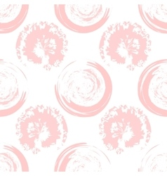 Pink blots on white background vector image vector image