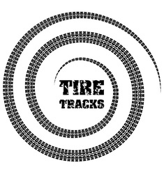 Tires design vector image
