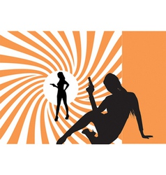 007 bond girls vector