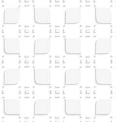 White small rectangle gropes and leaves seamless vector