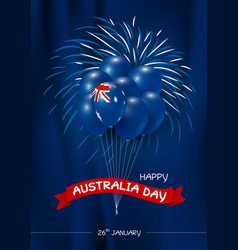 australia day design vector image