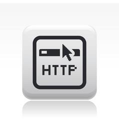 Browser icon vector