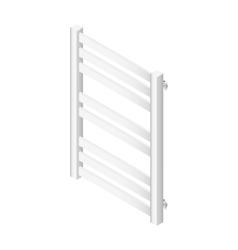 Heater towel rail isometric icon vector image