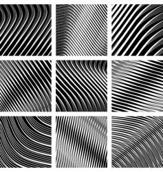 op art backgrounds vector image