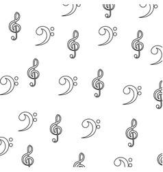 Music notes symbol vector