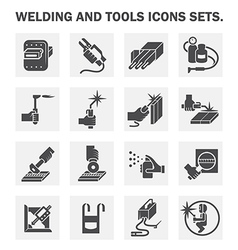 Welding icon vector
