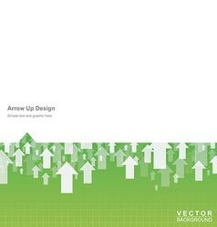 Arrow up vector