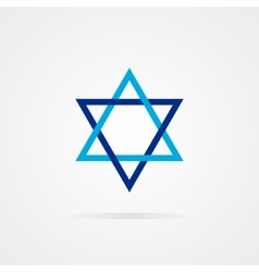 logo Shield of David vector image vector image