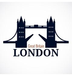 London Bridge Logo vector image vector image