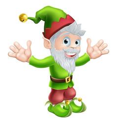 Garden gnome or elf vector