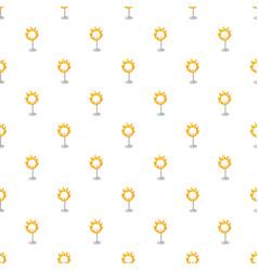 burning hoop pattern vector image