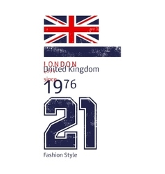 For printing t-shirts london vector