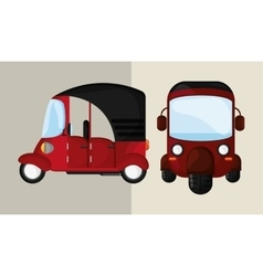 Transportation icon retro concept car vector