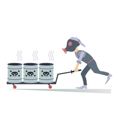 Toxic substance vector