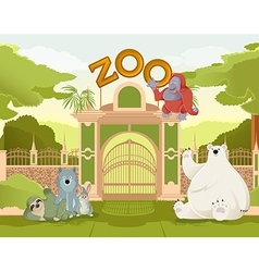 Welcome to zoo vector