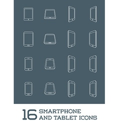Abstract minimal style modern mobile smartphone vector