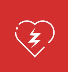 Defibrillator icon vector